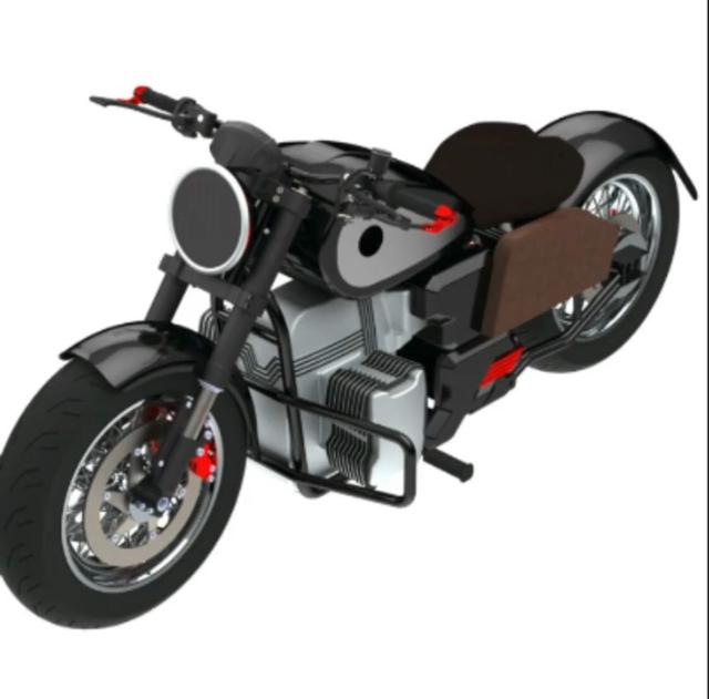 RKG-72, Calon Motor Listrik Bobber Ridwan Kamil Kolaborasi dengan GESITS (2116)