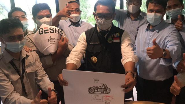RKG-72, Calon Motor Listrik Bobber Ridwan Kamil Kolaborasi dengan GESITS (2114)