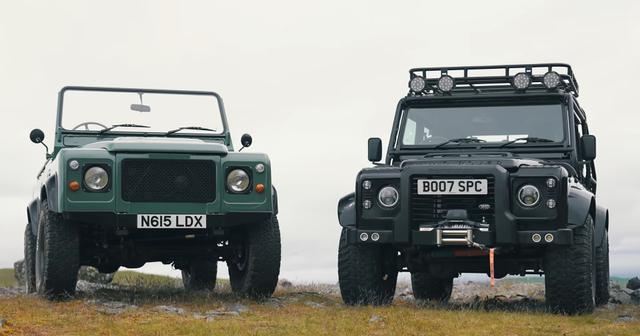 Ketika Land Rover Defender Disuntik Motor Listrik Tesla (33121)
