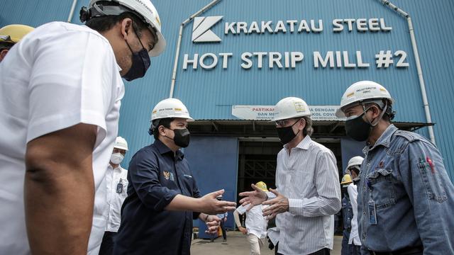 Subholding Krakatau Steel Laba Rp 367 Miliar per September 2021 (51627)