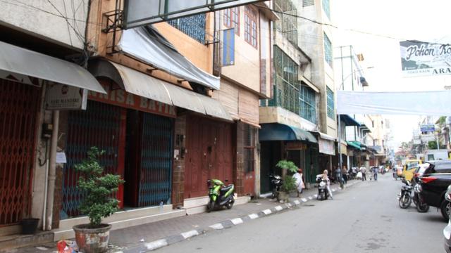 Cerita Pedagang Kain di Medan Diimbau Tutup karena PPKM: Kami Mau Makan Apa? (246065)