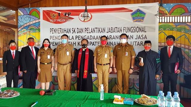 Minut Jadi Daerah Pertama Tuntaskan Rencana Aksi Pilot Project LKPP-KemenPANRB (24612)