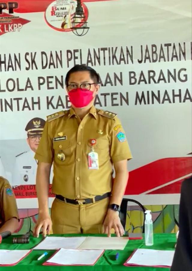 Minut Jadi Daerah Pertama Tuntaskan Rencana Aksi Pilot Project LKPP-KemenPANRB (24613)