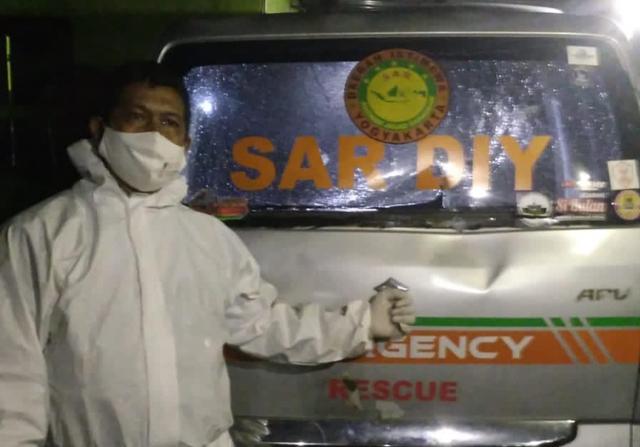 2 Pelaku Perusakan Mobil Ambulans Milik SAR DIY Diamankan Polisi (277995)