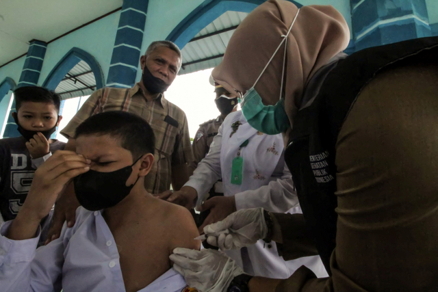 Stok Vaksin Corona di Aceh Sempat Kosong, Kemenkes Kirim 38.800 Dosis Sinovac (94501)