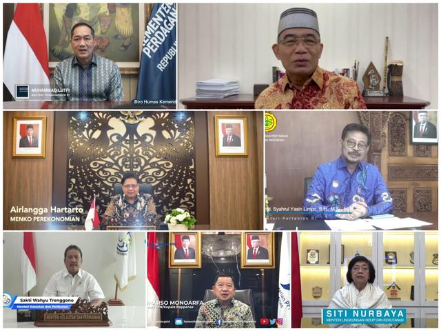 Bersama KemenkopUKM, Para Menteri Dukung Transformasi Koperasi di Indonesia (258495)