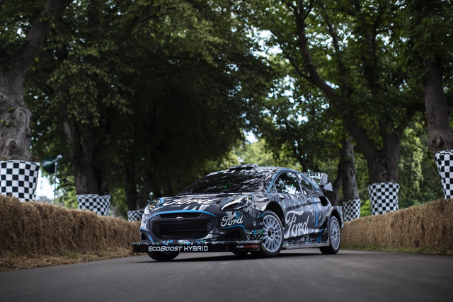 Puma Rally1, 'Senjata' Baru Ford dengan Mesin Hybrid (628379)