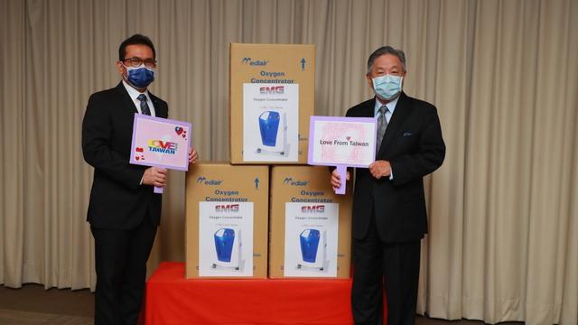 Taiwan Berikan 200 Mesin Penghasil Oksigen ke Indonesia (830424)