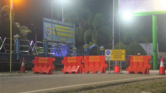 Ramai Ikut Vaksin di Kota Subulussalam Setelah Penyekatan Perbatasan Aceh-Sumut  (669443)