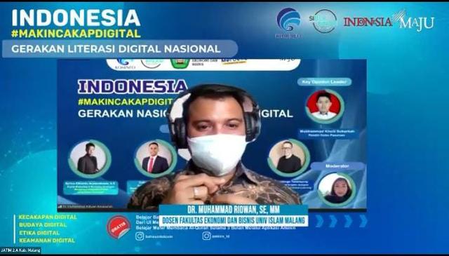Dosen FEB Unisma Ajak Masyarakat Bijak Bermedia Sosial  (995364)