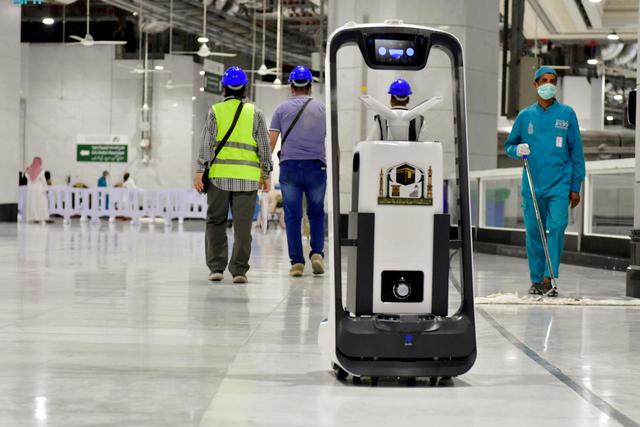 Melihat Hebatnya Teknologi AI dan Robot di Masjidil Haram dan Nabawi Haji 2021 (168939)