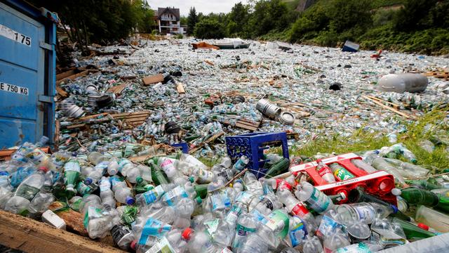 Foto: Tumpukan Sampah Usai Banjir Besar yang Melanda di Jerman (141982)