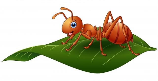 """Cerita Fabel Bahasa Inggris """"The Ant and The Grasshopper"""" (87137)"""