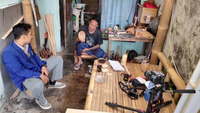 Promosi Kesenian Topeng, Tim KKN UM Desa Kemantren Buat Video Dokumenter (147483)