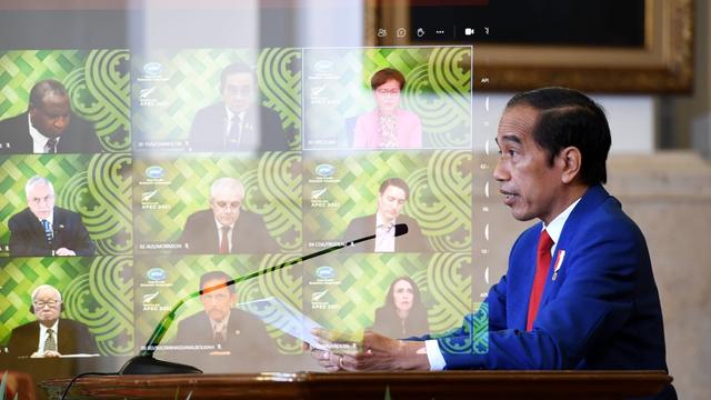 Jokowi Sebut Pemulihan Ekonomi Mustahil Bila Pandemi COVID-19 Belum Berakhir (90437)