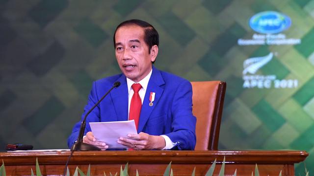 Jokowi Dorong Pemerataan Vaksin Corona hingga Pemulihan Ekonomi di KTT APEC (212646)