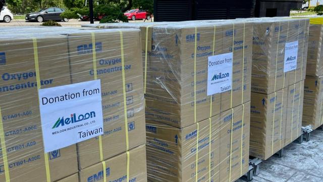 Taiwan Kembali Sumbang 110 Mesin Penghasil Oksigen ke Indonesia, Tiba 20 Juli (20153)