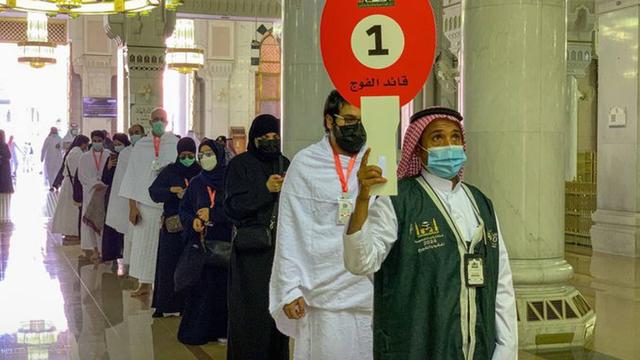Jemaah Haji 2021 Mulai Berdatangan ke Masjidil Haram, Begini Suasananya (274938)