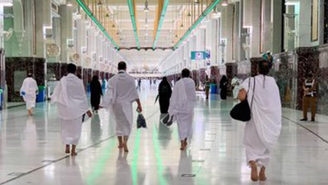 Jemaah Haji 2021 Mulai Berdatangan ke Masjidil Haram, Begini Suasananya (274948)