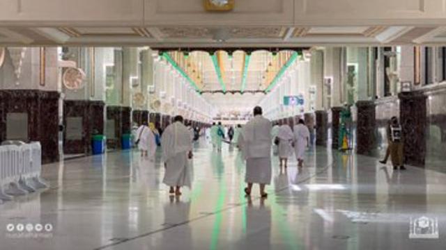 Jemaah Haji 2021 Mulai Berdatangan ke Masjidil Haram, Begini Suasananya (274950)