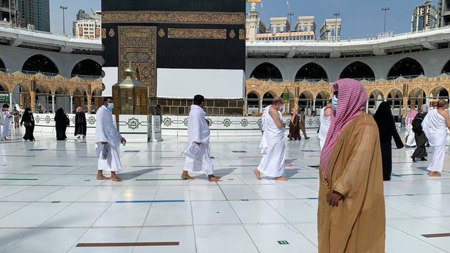 Jemaah Haji 2021 Mulai Berdatangan ke Masjidil Haram, Begini Suasananya (274944)
