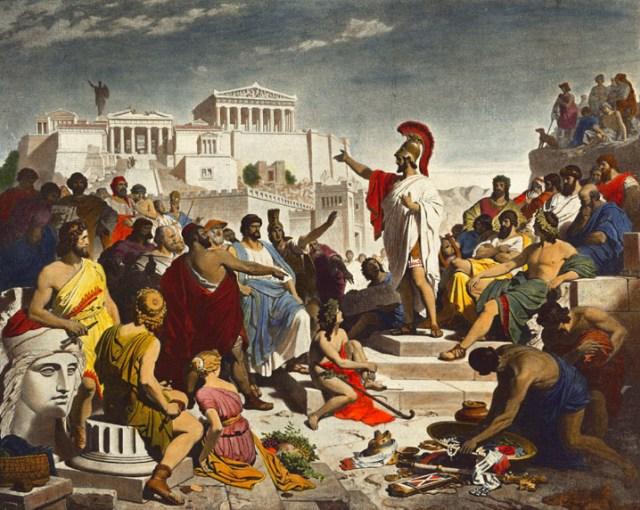 Perang Peloponnesia, Runtuhnya Arogansi Bangsa Athena (34137)