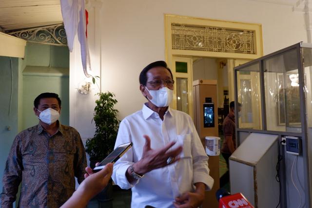 Sri Sultan: Belum Ada Sanksi Pidana PPKM Level 4 di DIY, Hanya Teguran (481385)