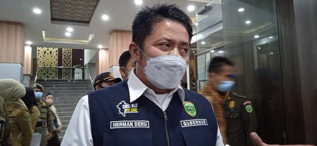 Gubernur Sumsel Sesalkan Data Virus Varian Delta di Sumsel Tidak Diperbaharui (25182)