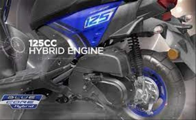 Bocoran Skutik Hybrid Yamaha, Seberapa Irit Konsumsi BBM-nya? (50546)