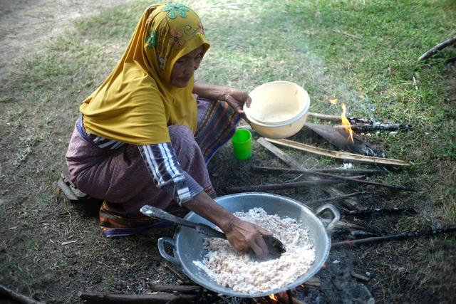 Mengenal Batoq, Makanan dari Sagu di Simuelue Kala Ekonomi Sulit (858888)