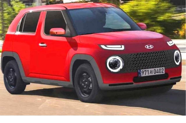 Hyundai Casper, SUV Mungil Calon 'Suzuki Ignis Killer' Meluncur di 2021 (83181)