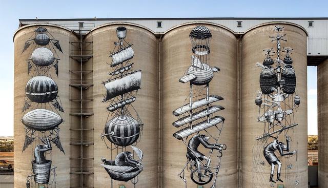 Seni Mural di Lumbung Pertanian? Yuk, Ikut 3 Hari Road Trip di Australia Barat! (148650)