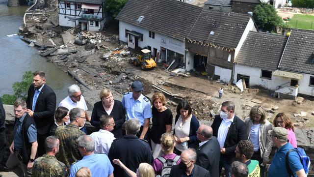 Kanselir Angela Merkel: Banjir di Jerman Mengerikan (30890)