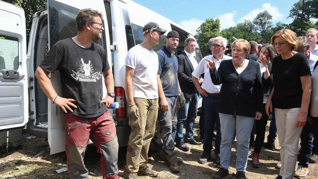 Cegah Banjir Besar Jerman Terulang, Merkel Percepat Upaya Lawan Perubahan Iklim (124157)