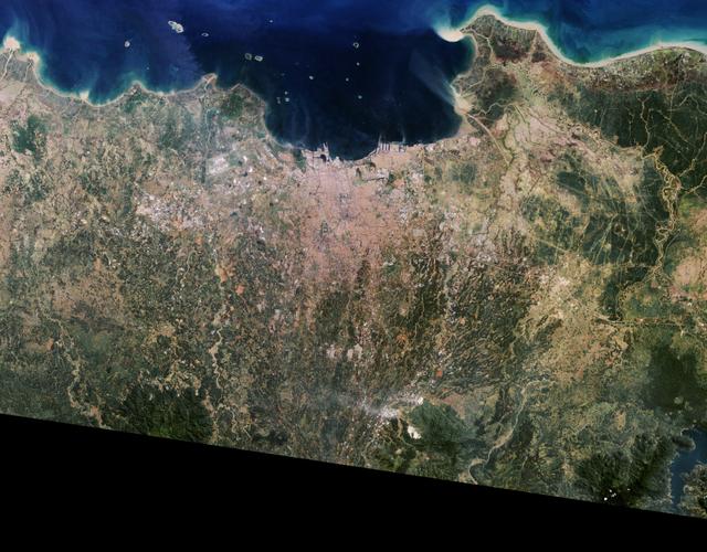 Citra Satelit Pantau Urban Jakarta dan sekitarnya; Potret Tantangan PPKM Darurat (67099)
