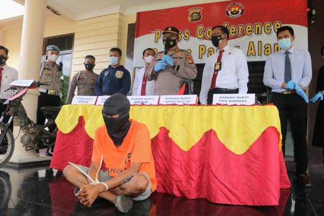 Polisi Tangkap Perampok Bank BUMN di Pagar Alam (1057408)