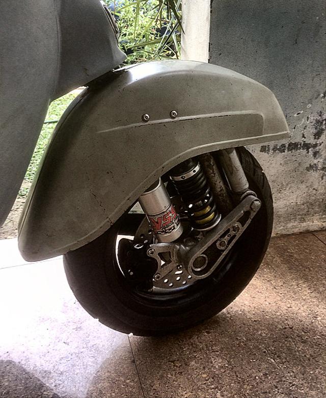 Cara Kerja Shockbreaker Depan Motor (92412)