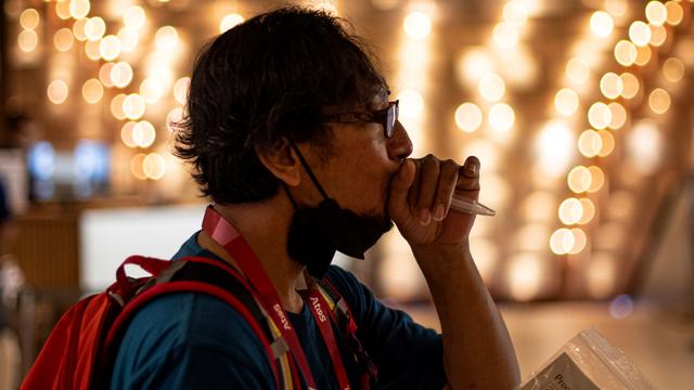 Foto: Tes PCR Harian Bagi Jurnalis Peliput Olimpiade Tokyo 2020 (1226334)