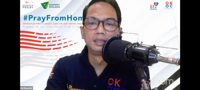 Galang Dana RS Darurat Pasien Covid-19 Dari OK OCE Untuk Indonesia (68592)