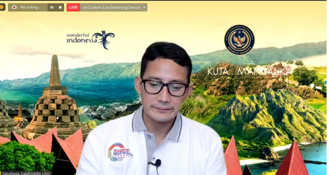 Sandiaga Dukung Green Tourism Expedition OK OCE Forever Bersama Kaldera  (91852)