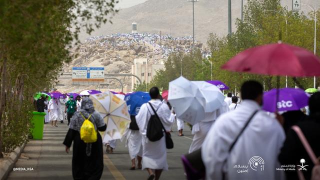 Suasana Emosional Jemaah Haji 2021 Saat Wukuf di Arafah (506167)