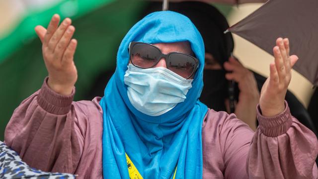 Suasana Emosional Jemaah Haji 2021 Saat Wukuf di Arafah (506163)