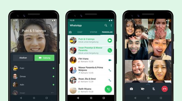 Cara Gabung ke Panggilan Suara dan Video Call Grup WhatsApp yang Tak Diangkat (89836)