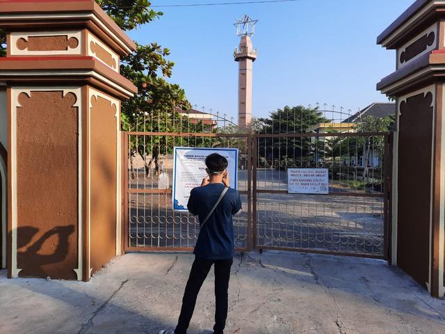Tak Gelar Salat Idul Adha, Masjid Agung Al-Ikhlas di Gunungkidul Ditutup (4762)