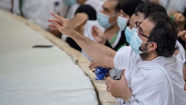 Haji 2021: Suasana Jemaah Mabit di Muzdalifah, Lempar Jumrah, dan Tawaf Ifadah (731033)