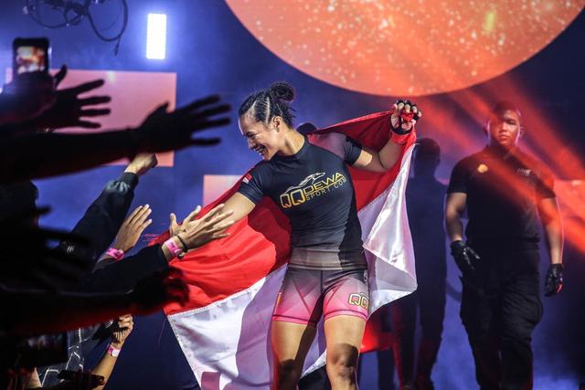 Satu Dekade ONE Championship, Priscilla Harap MMA Makin Populer di Indonesia (326525)