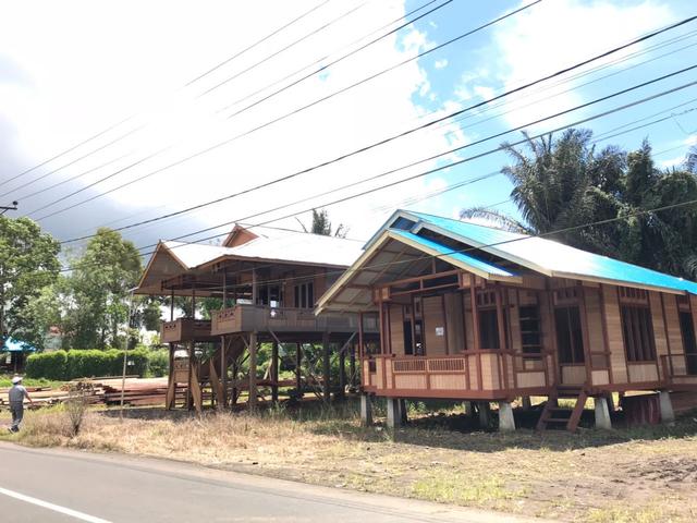 Rumah Adat Sulawesi Utara, Walawengko dan Silidan yang Khas (97453)