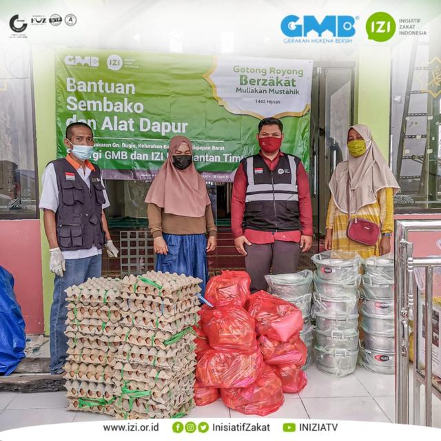Kampung Baru Kembali Terbakar, Komunitas GMB dan IZI Kaltim Salurkan Bantuan (206450)