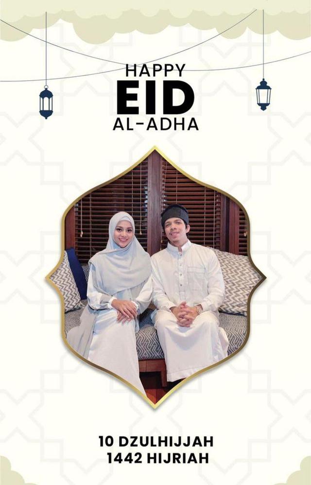 9 Seleb yang Rayakan Idul Adha Pertama Bersama Pasangan di Tahun 2021 (86875)