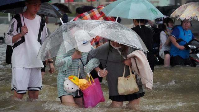 Foto: Banjir Besar di Provinsi Henan di China (58597)